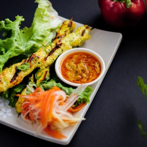 A5. Chicken Satay