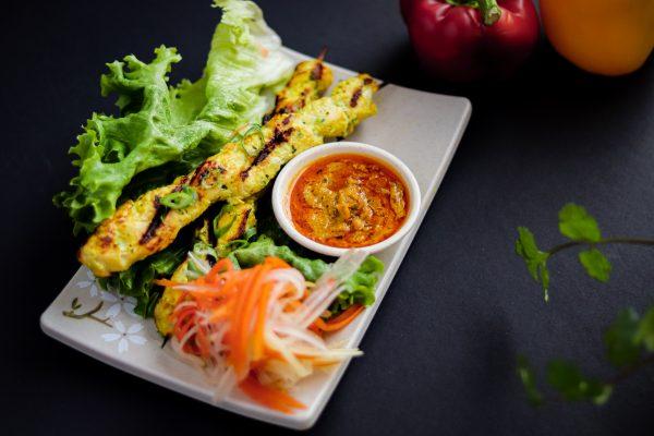 A5. Chicken Satay