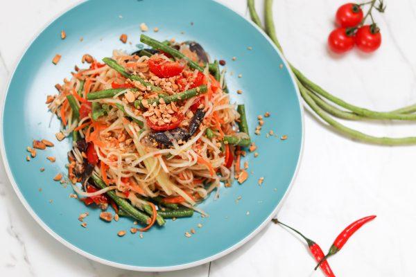 S2. Thai Spicy Papaya Salad